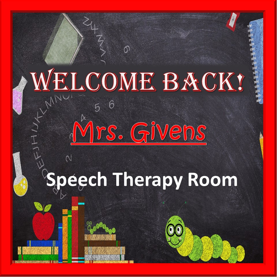 Therapy Tip Tuesday – Back to School! – BVGSLP